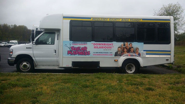 Nassau County, NY NICE Bus Advertising